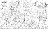 Обои - раскраски / раскраска / детское творчество Принцессы Винкс 60х100см
