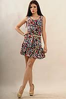 Платье Джесс Ri Mari принт цветной