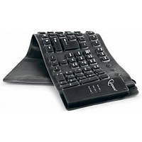 Клавиатура проводная Gembird KB-109F-B-RU, USB+PS-2, Черная Новая