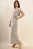 Платье Круиз-Моно Ri Mari серый меланж