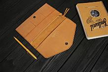 Женский кожаный кошелек ручной работы VOILE vl-lw2w-ryz-tbc, фото 2