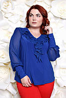 Шикарная трикотажная  блузка в 5ти цветах Милания