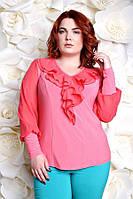 Шикарная трикотажная  блузка в 2х цветах Милания