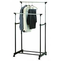 Стойка-вешалка для одежды двойная Double-Pole TM-0032