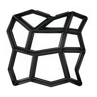 Форма фігурна пластикова для тротуарних доріжок 43,5х43,5, фото 1