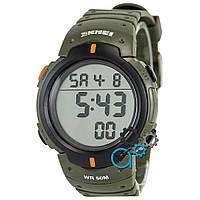 Спортивные мужские часы Skmei Khaki (реплика)