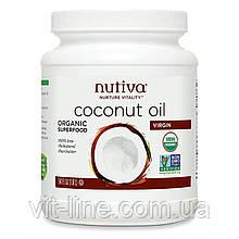 Nutiva, Органическое кокосовое масло первого отжима (1,6 л)