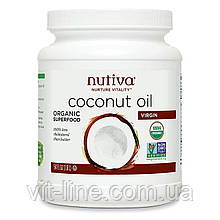 Nutiva, Органічне кокосова олія першого віджиму (1,6 л)