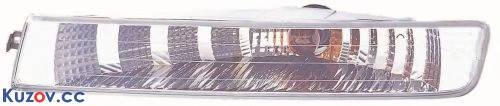 Указатель поворота в бампере Opel Vivaro 01- правый, белый (Depo) 442-1601R-AE 91166439, фото 2