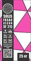 Штукатурка декоративная «барашек» белая 1,5мм «SOLIS«SF 215»