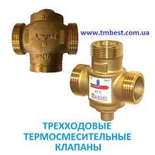 Трехходовые термосмесительные клапаны