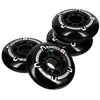 4 колеса для роликов Oxelo Fit 76 мм. 80 A