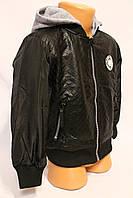 Куртка-ветровка из ЭКОКОЖи для мальчиков от 1 до 5 лет на весну. Фирма-S&D. Венгрия