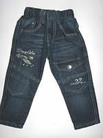 Утепленные джинсы для мальчика. р.98,104 (арт.Q54)