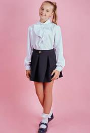 Блузки школьные длинный рукав