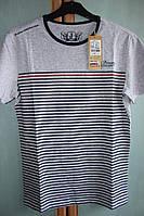Мужская футболка, хлопок (тянется), размер М