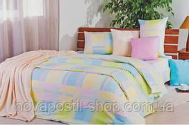 Ткань для постельного белья, ранфорс Клетка Модерн