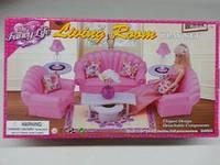 Мебель для кукол Барби GLORIA для гостинной