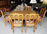 Стіл столовий,розкладний + 6 стільців,в стилі Барокко