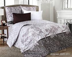 Ткань для постельного белья, бязь белорусская Бонсай