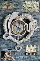 """Часы настенные """"Love""""."""