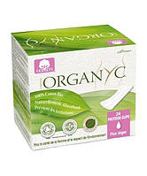 CR Ежедневные гигиенические прокладки в индивидуальной упаковке, органический хлопок, 24 шт