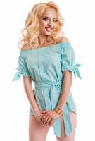 Блуза женская из лена