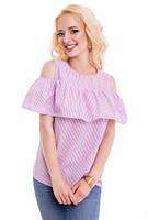 Блуза женская в полосочку