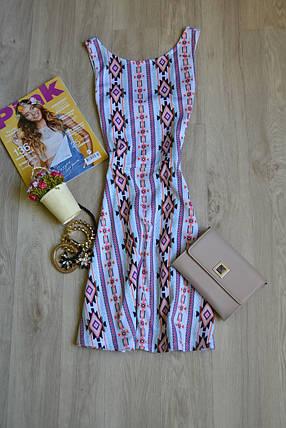 Короткое платье в принт H&M, фото 2