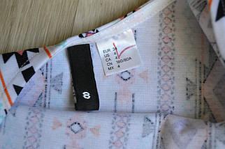 Короткое платье в принт H&M, фото 3