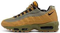 Мужские кроссовки Nike Air Max 95 Premium (найк аир макс 95) желтые