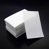 Салфетки безворсовые 4на6 100 шт в упаковке