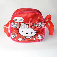 Детская сумка сумочка Hello Kitty красная маленькая