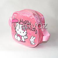Детская сумка сумочка Hello Kitty розовая маленькая