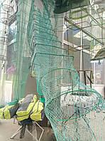 Раколовка  3.1 м, 22Х 30 см., основа с металлического прута, на 11 входов, для ловли раков