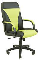 Кресло Сиеста мех., Пиастра, черное с зеленым