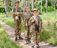 Детский камуфляжный костюм Лесоход камуфляж Пиксель