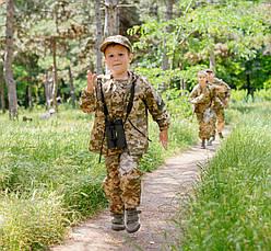 Детский камуфляж костюм для мальчиков Лесоход цвет Пиксель, фото 2
