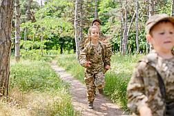 Детский камуфляж костюм для мальчиков Лесоход цвет Пиксель, фото 3