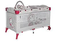 Детский манеж ARENA 2L+ - Bertoni - Болгария - дуга с игрушками в наборе