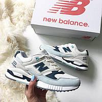 Стильные и яркие женские кроссовки New Balance W530SC Encap 'White/Mint'  / Реплика / 1:1 к оригиналу