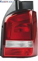 Фонарь задний для Volkswagen Transporter T5 '10-15 правый (DEPO) 1 дверь, светло-красный 441-19B1R-UE