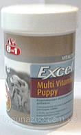 8в1 ЭКСЕЛЬ Мультивитамины для щенков/185ml.