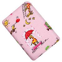 Губка для купания махровая (розовая), Canpol babies