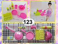 Набор мини-посуды для кукол