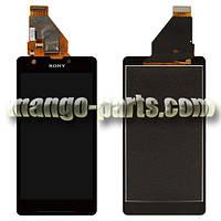 LCD Дисплей+сенсор Sony Xperia ZR C5502 M36h/C5503 M36i,черный