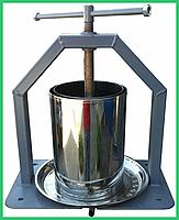 Механический пресс ручной серый (15 литров)