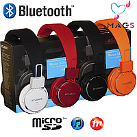 Подарочный набор Bluetooth наушники ATLANFA 7611