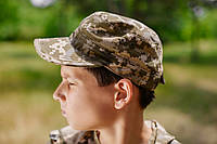 Кепка детская НЕМКА для мальчиков камуфляж Пиксель