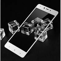 Защитное стекло для Xiaomi Redmi Note 4x Global version с белыми рамками 2,5d